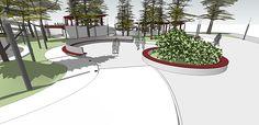 CC_UI Arq. Urbana_Proyect Diseño espacio público_201602 on Los Andes Portfolios Urban Landscape, Landscape Design, Behance, Branding, World, Illustration, Plants, Goal, Public Space Design