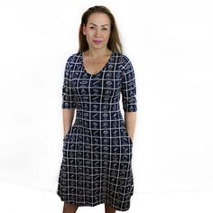 9774be1a28a Dewey Decimal Classification® Adult Fit   Flare Katherine Dress