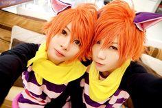 Hitachiin twins (Ouran High School Host Club) by Irvy