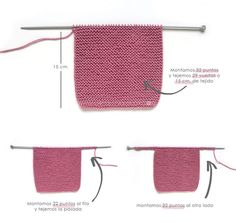 Knitted Baby Cardigan – PINK LADY – Crochet , Knitted Baby Cardigan – PINK LADY – Now we are going to join both pieces. If everything is correct, we must knit with Knitting.