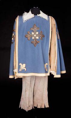"""Cape worn by Van Heflin as Athos in """"The Three Musketeers"""" (1948)."""