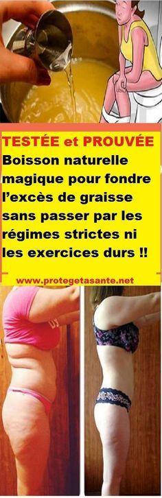 Boisson naturelle magique pour fondre l'excès de graisse sans passer par les régimes strictes ni les exercices durs !!