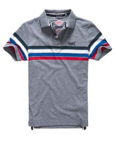 An essential piece for any wardrobe, our range of men's polo shirts includes long and short-sleeved options. Blue Polo Shirts, Tee Shirts, Dress Shirts, Long Sleeve Polo, Long Sleeve Shirts, Polo T Shirt Design, Camisa Polo, Superdry, Shirt Jacket