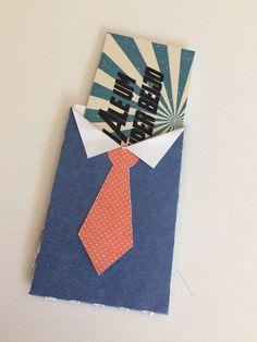 Faça você mesma um lindo cartão para o Dia dos Pais
