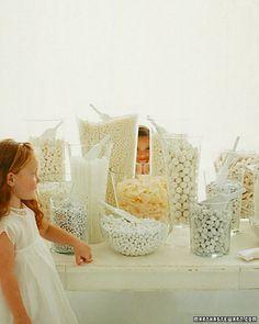 All white treats