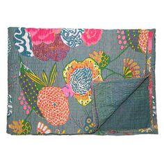 Sanatani Kantha Print Throw, $95, now featured on Fab.
