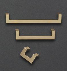 Ramsey Drawer Pull Satin Brass - 4 in.