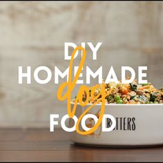 DIY Homemade Dog Food is part of Healthy dog food recipes - Keep your dog healthy and fit with this easy peasy homemade recipe it's cheaper than storebought and chockfull of fresh veggies! Puppy Treats, Diy Dog Treats, Puppy Food, Homemade Dog Treats, Homemade Recipe, Homemade Food For Dogs, Dog Biscuit Recipes, Dog Treat Recipes, Dog Food Recipes