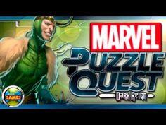 Marvel Puzzle Quest Dark Reign #Loki