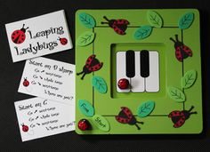 Cute CUTE games for piano students as well as music class there are videos to demo some of the games too!!