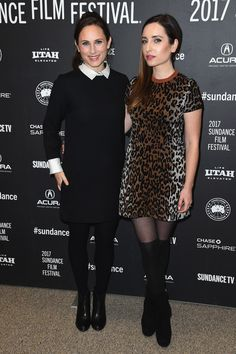 """Zoe Lister Jones Photos Photos - Producer Natalia Anderson and director Zoe Lister-Jones attend the """"Band Aid"""" Premiere at Eccles Center Theatre on January 24, 2017 in Park City, Utah. - 'Band Aid' Premiere - 2017 Sundance Film Festival"""