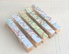 map clothespins