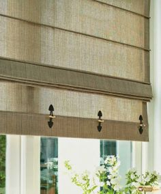 Roman Blinds lend a simple yet elegant addition to a room. Available in contemporary or traditional styles Roman Blinds are a perfect alternative to curtains as Decor, Curtains With Blinds, Blinds Inspiration, Window Styles, Curtains, Window Coverings, Roman Blinds, Drapes And Blinds, Blinds