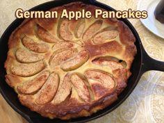 German Apple Pancakes from 5DollarDinners.com