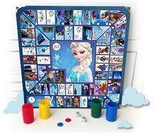 Planes Para Peques.com Juego de La Oca de Frozen