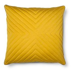 """Room Essentials™ Oversized Quilted Jersey Pillow (24x24"""") : Target"""
