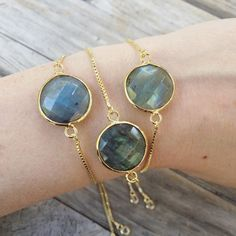 Labradorite Bracelets www.LunaSavita.com #Labradorite #stone #stonejewelry #bracelet #etsy #etsyseller #etsyshop #etsyfinds #ootd #jewelry #picoftheday #photooftheday #pickoftheday #style #shopsmall #shophandmade #handmade #giftsforher #sparkle #laboraditejewelry