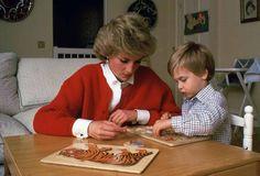 Princess Diana & William