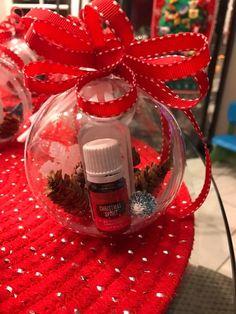 Teacher gift idea-Christmas spirit and Thieves hand sanitizer