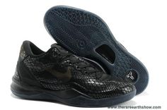 hot sale online 55373 26f87 Nike Kobe 8 2013 Chinese Year Snake All Black Running Shoes, cheap Nike  Kobe VIII Mens, If you want to look Nike Kobe 8 2013 Chinese Year Snake All  Black ...