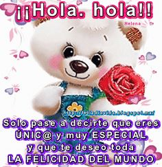 The perfect Hola Bear Blinking Animated GIF for your conversation. Discover and Share the best GIFs on Tenor. Good Morning Good Night, Good Morning Wishes, Good Morning Quotes, Morning Thoughts, Deep Thoughts, Hello In Spanish, Rita Hayward, Bear Gif, Spanish Greetings