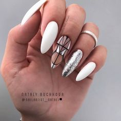15 rainbow nail art ideas to try during Pride month and beyond White Almond Nails, Almond Acrylic Nails, Nails Now, Aycrlic Nails, Europe Nails, Celebrity Nails, Rainbow Nails, Nagel Gel, Toe Nail Art