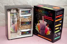 Bubbleology - Bubble Tea gift set. Saw this in Ireland, but I want to try this!
