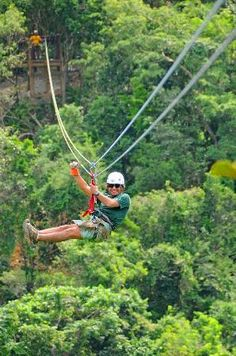 Ziplining!! Ziplining is something new and fun that you can do all year round hear in Lake Geneva! It's a great adreniline rush and an amazing way to experience nature #ziplining