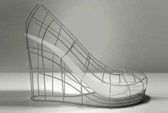 "Sebastian Errazuriz 12 Shoes for 12 lovers ""The Ghost Valentina"""