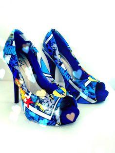 Comic-book shoes!