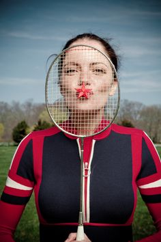 summer is all about playing badminton | photo by liz von hoene