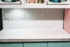 DIY peel and stick tile backsplash. Are you looking for a quick fix for your kitchen or bathroom back splashes? I share how to install these tiles Kitchen Backsplash Peel And Stick, Peel And Stick Tile, Stick On Tiles, Backsplash Tile, Big Kitchen, Kitchen Design, Kitchen Tips, Modern Condo, Outlet Covers