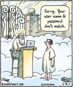 ideas for memes cartoon religious humor Christian Comics, Christian Cartoons, Christian Jokes, Bizarro Comic, Frases Humor, Memes Humor, Tech Humor, Humor Quotes, Funny Cartoons