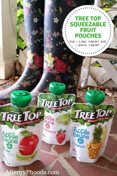 Does our family eat perfectly all of the time? No. Do I strive to find products... click to read more #TreeTop #apple #fruit #snack #onthego #food #review #product #pouch #juice #BPAfree #glutenfree