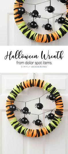 Easy Halloween Wreat