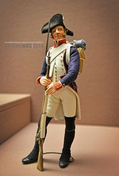 British Military Figurine: Cavalry. I love photographing military articles of historical interest, such as weapons, uniforms, and equipment. Taken at West Point Military Academy Museum, New York, U.S.A.