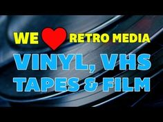 We ❤ Retro Media: Vinyl, VHS, Tapes & Film | Off Book | PBS  We live in a digital world that gives us all the media we could possibly dream of at the click of a mouse, yet many people miss the old school physical formats from our past.