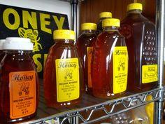 Assorted honey http://www.hillsidebees.com/New-Hampshire-Honey-s/1828.htm