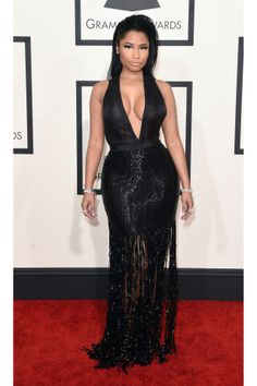See all of the 2015 Grammys red carpet looks here: Nicki Minaj