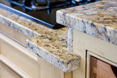 Quartz Countertop Edge Details : ... about Edges on Pinterest Granite edges, Granite and Quartz stone