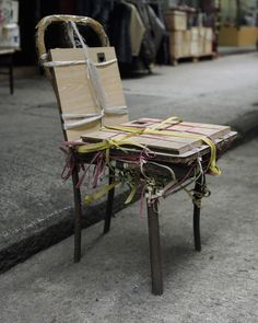 Bastard Chairs by Michael Wolf (Works That Work magazine)