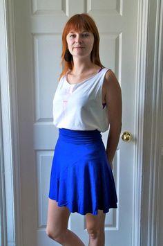 DIY Clothes DIY Refashion : DIY Sewing skirts with Morgan