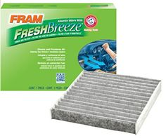 Fram Fresh Breeze Cabin Air Filter, for Hyundai/Kia vehicles Toyota Cars, Toyota Prius, Toyota Vehicles, Subaru Cars, Audi Cars, Arm And Hammer Baking Soda, Ventilation System, Air Conditioning System, Air Filter