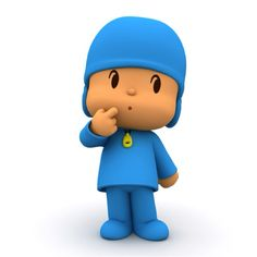 Pocoyo having some thoughts.