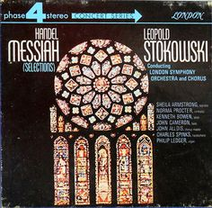 Handels Messiah highlights conducted by Leopold Stokowski