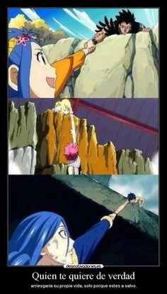 carteles anime fairytail natsudragneel lucy gazille levy gray juvia desmotivaciones