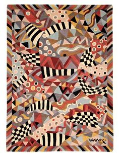 """Missoni Acapulco Desert Hand Knotted & Hand Carved Rug, Multi, 5' 7"""" x 7' 10"""""""