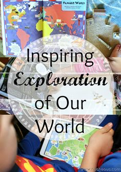Inspiring Exploration of Our World #lpkids