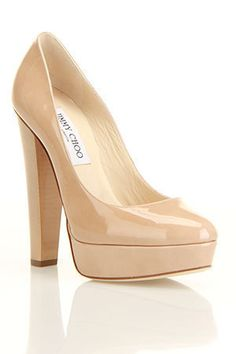 So realistically maybe not 'Jimmy Choo' - sigh....but I like the platform and thick heel :)