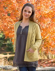 Great looking sweater. Pattern available from Ravelry for $6.00.